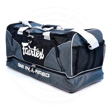 5ed2a89f16 Fairtex Grey Equipment Gym Bag