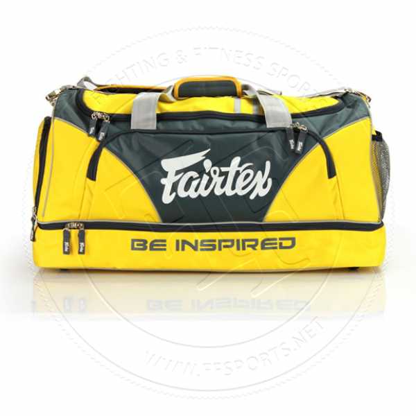 7e8ae6b3617f Fairtex Yellow Equipment Gym Bag